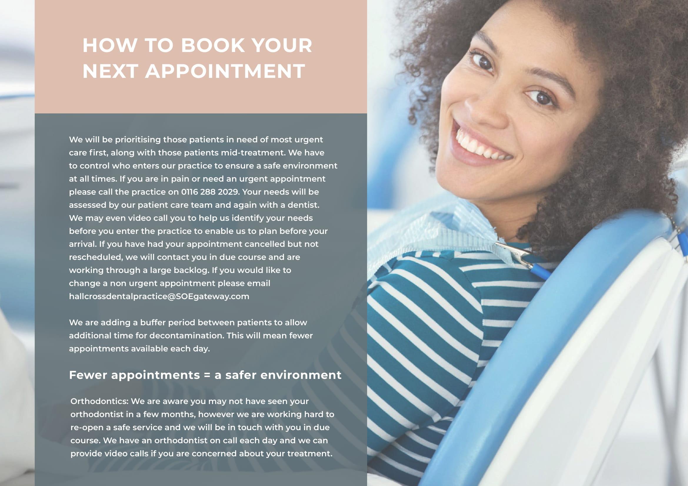 Reopening Guide Hallcross Dental 3